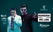 Hungria Hip Hop e Mc Lan nas Férias