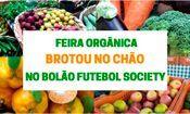 Feira orgânica no Bolão Futebol Society