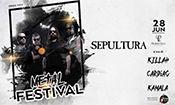 Metal Festival com Sepultura em Campinas
