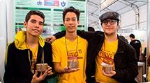 Estudantes de Campinas são premiados por descoberta de carvão ecológico