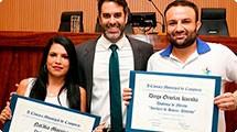 Projetos sociais do Guarani recebem homenagem do vereador Nelson Hossri